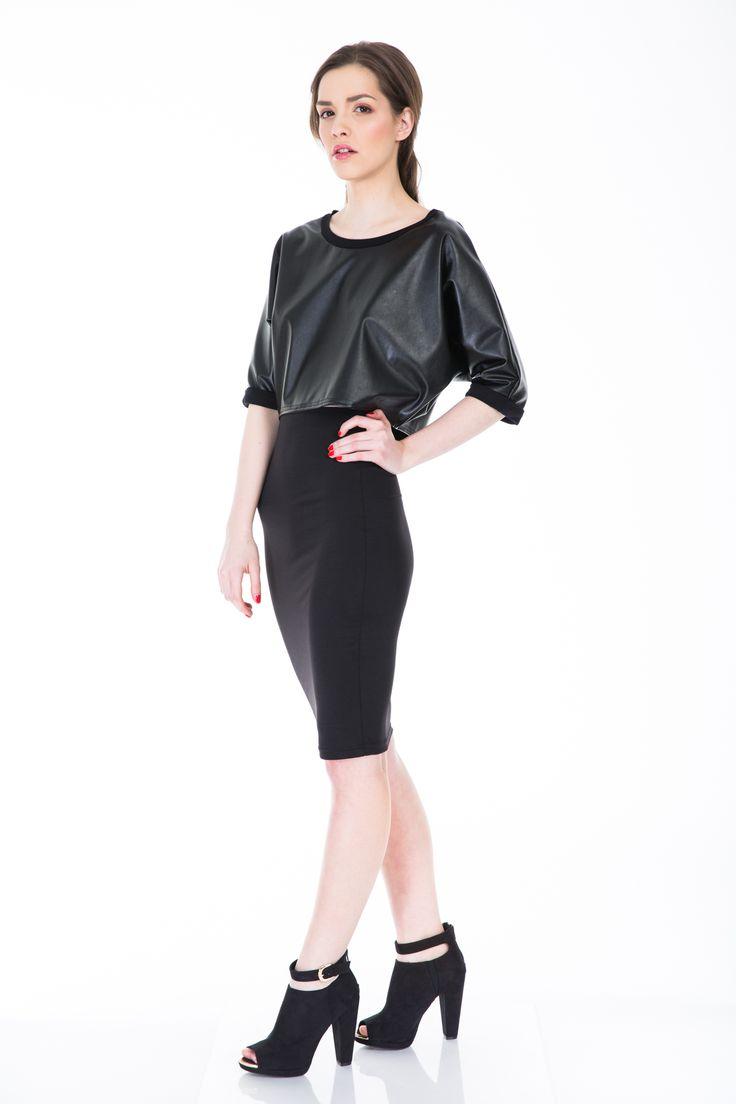 #blackskirt  www.bluzat.ro