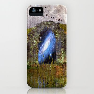 The arch of the universe iPhone & iPod Case by Oscar Tello Muñoz - $35.00