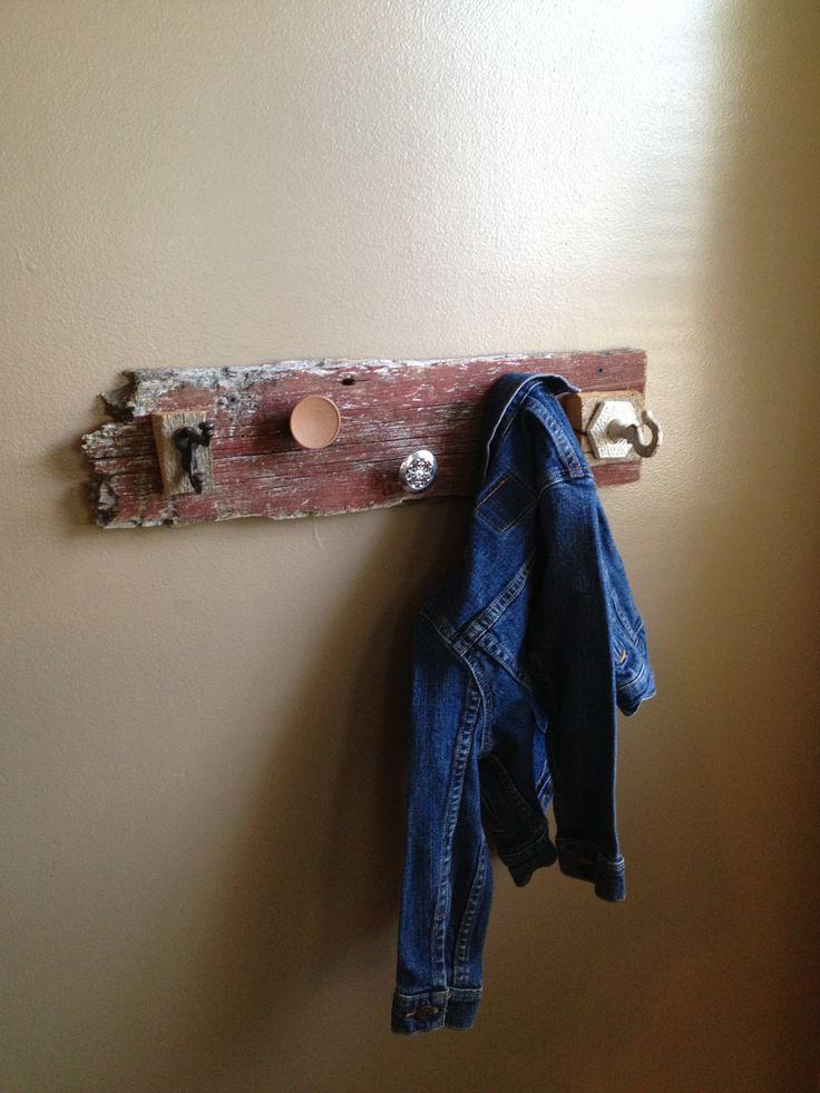 Pallet Wood Door Hangers
