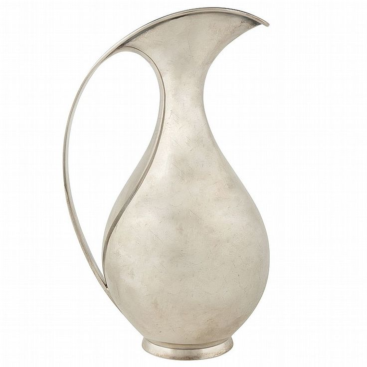 Kay Fisker Danish, 1893-1965 Water Pitcher, 1965, designed for Anton Michelsen