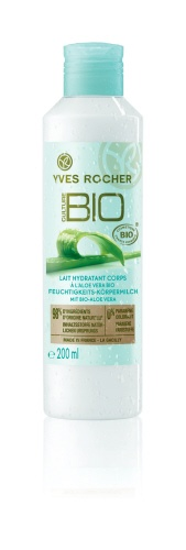 Discover a cocktail of organic pampering: soothing Aloe Vera, nourishing Almond and Sesame Oils and calming Witch Hazel Water for soft moisturized skin. In the Moisturizing Body Lotion with Organic Aloe Vera!  Un cocktail de soins biologiques, ce Lait hydratant corps à l'Aloe Vera bio rend votre peau douce et hydratée !