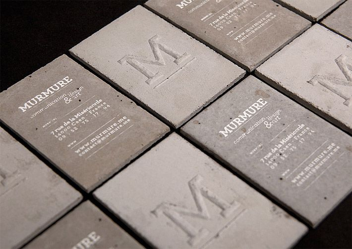 72 best branding business cards images on pinterest brand concrete business cards reheart Image collections