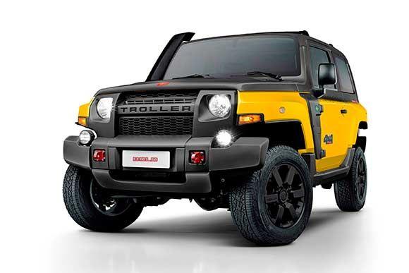 A Troller vai apresentar versão personalizada Bold do utilitário T4 no seu estande no Salão do Automóvel. Preço é de R$ 129.990. Leia mais...