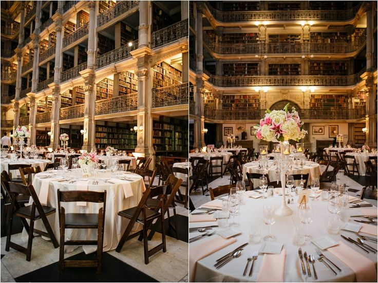 George Peabody Library Historic Wedding Venue Baltimore MD Peabodyeventslibraryjhuedu