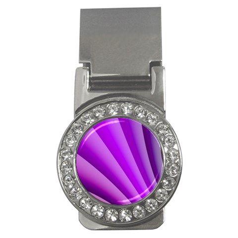 Gentle+Folds+Of+Purple+Money+Clips+(CZ)+