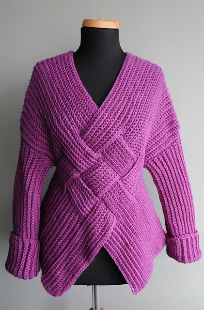 Ravelry: Mongolian Warrior Pullover pattern by Nicky Epstein