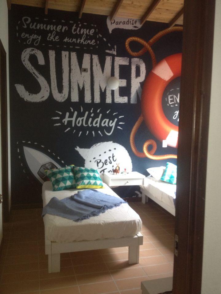 PH decorando casa de verano