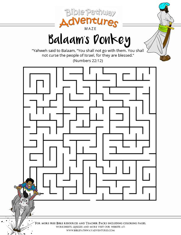 Mejores 17 imágenes de Bible: Balaam en Pinterest   Historias de ...