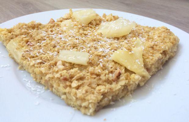 Gebakken havermout met ananas – Sport Foodblog