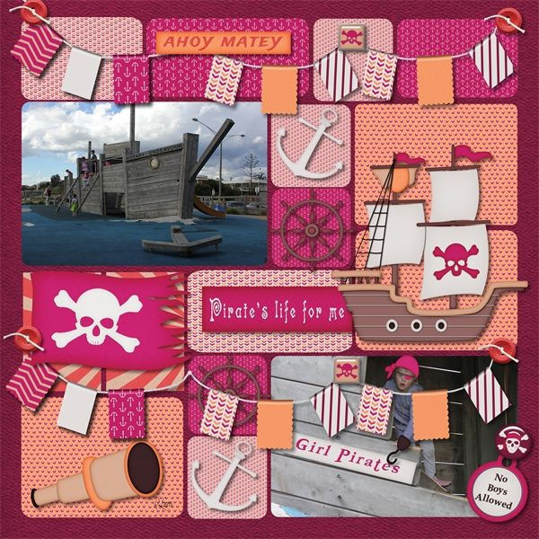 Pirates in Pink by Miss Mis Designs available at Gingerscraps  Kit http://store.gingerscraps.net/Pirates-In-Pink-by-Miss-Mis-Designs.html Alpha http://store.gingerscraps.net/Pirates-In-Pink-Alphabet-Pack-by-Miss-Mis-Designs.html style pack http://store.gingerscraps.net/Pirates-In-Pink-Style-Pack-by-Miss-Mis-Designs.html  layout 1 Just us girls template by Time Out Scraps available at Scraps n Pieces…