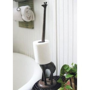 Giraffe Paper Towel Holder, buy here http://amzn.to/GiraffePaperTowelHolder