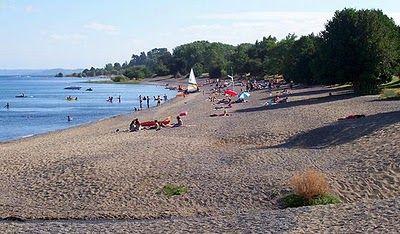 playa coique  en futrono
