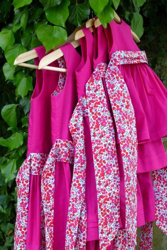 robe-cortege rose liberty 1