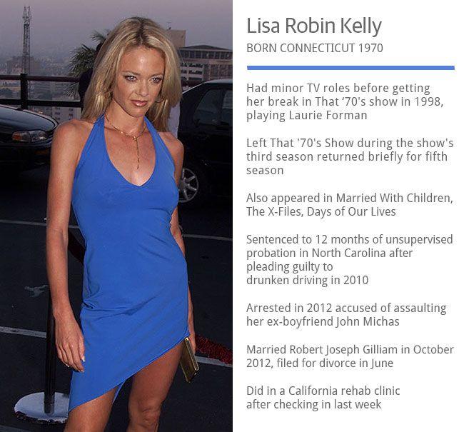 lisa robin kelly husband