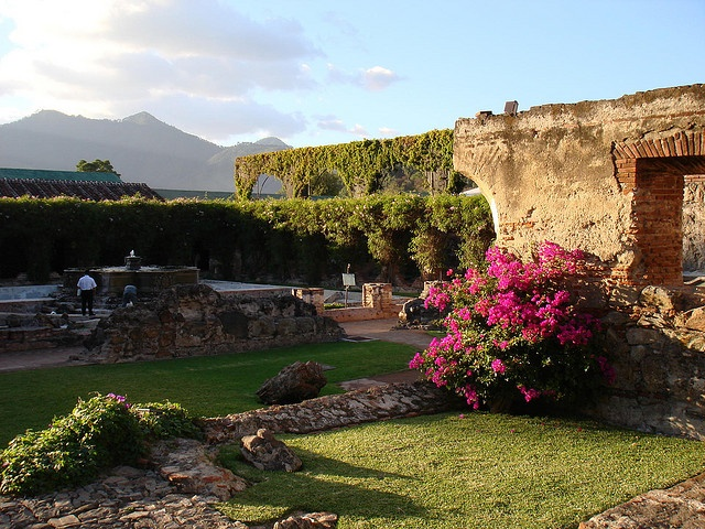 The Hotel Santo Domingo Museums, Antigua, Guatemala. Built among ruins; beautiful.