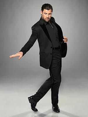 Maks.  This season isn't the same without being able to watch him dance each week. Glad he came back for the week.