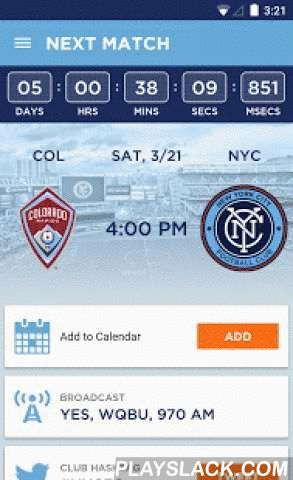 New York City FC  Android App - playslack.com ,  The official app of New York City FC keeps you connected to your favoriteMLS club with live match scores and stats, the latest news, highlights,photos and more.The free application includes:· Live match scores and stats including complete league standings· Official club roster and news· Full schedule with one-touch add to calendar· A live social media feed of Twitter and Instagram· Yankees Stadium match day information· Ticket information·…