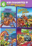 4 Kid Favorites: What's New Scooby-Doo [4 Discs] [DVD]