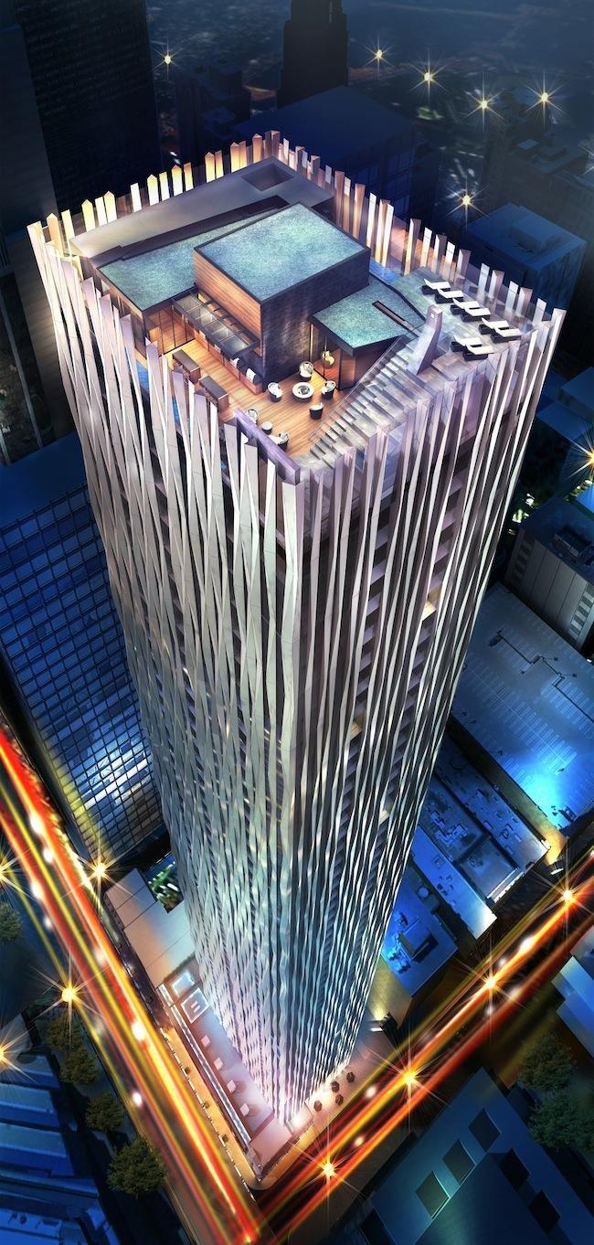 The irreplaceable building, 1 Yorkville - designed by award-winning architect Rosario Varacalli. #Toronto #Ontario