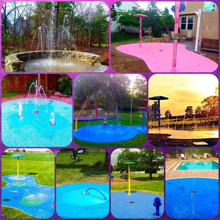 Pool Water Splash: 17 Best Ideas About Backyard Splash Pad On Pinterest