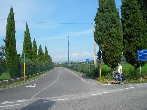Von der Stadt Bardolino Wein in Verona mit dem Fahrrad!