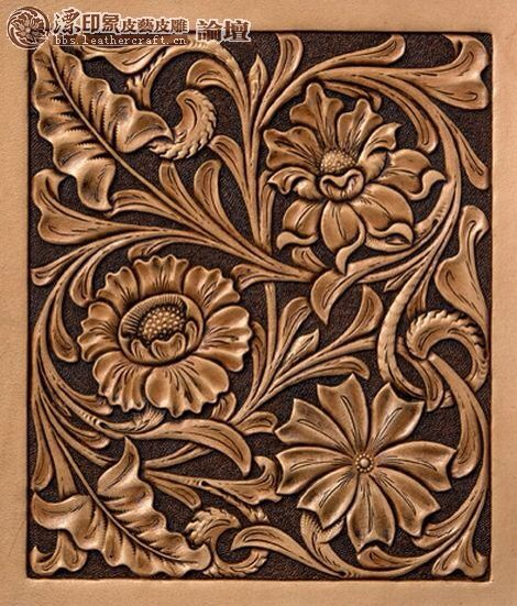 Images about leather tooling patterns on pinterest
