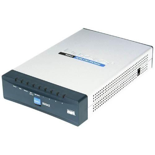 Linksys Cisco RV042 4-port Fast Ethernet VPN Router-Dual WAN