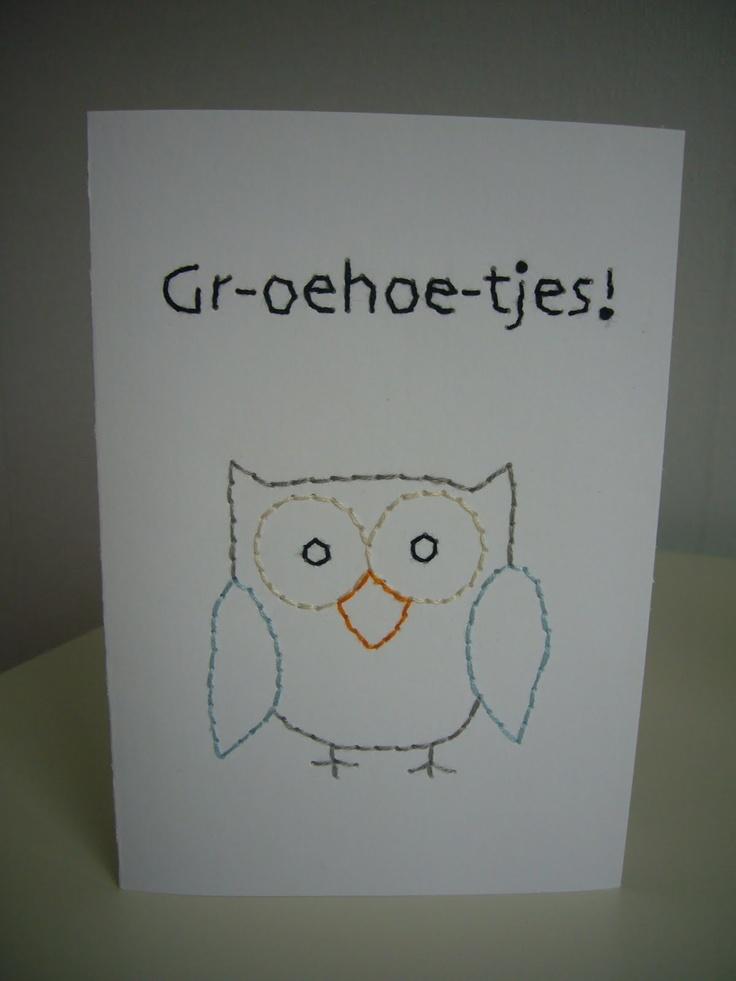 Leuke tekst voor op een andere uilenkaart