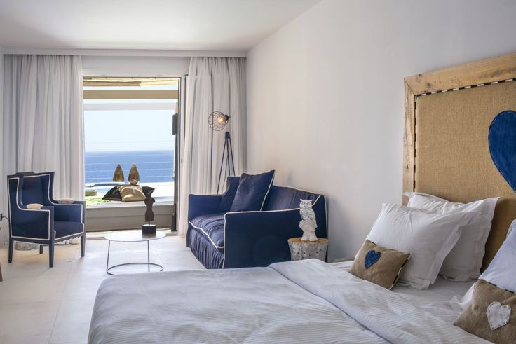 Compact luxury with endless sea views! #Experience #MyconianImperial #Accommodation #Design #Renovation