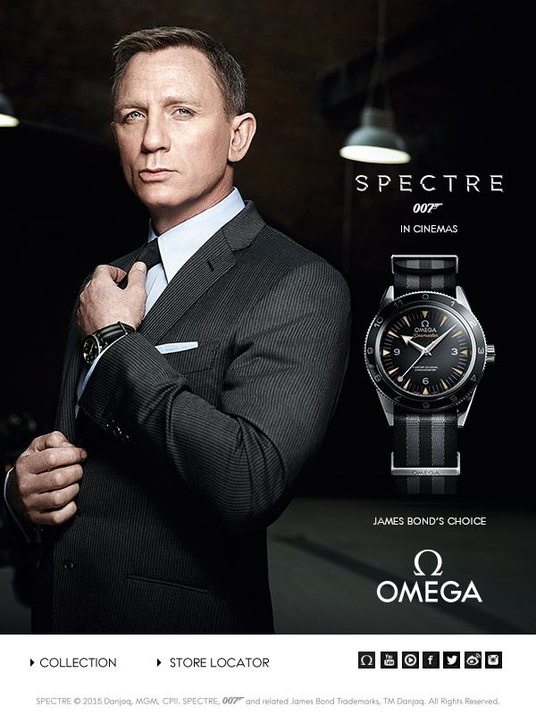 "Discover the new OMEGA Seamaster 300 ""SPECTRE"" Limited Edition"