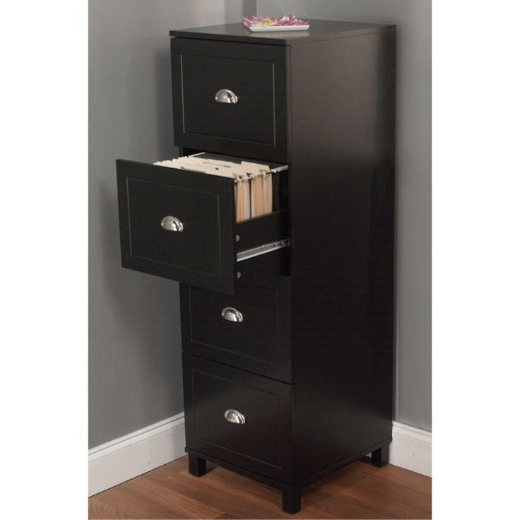 Simple Living Bradley 4-drawer Filing Cabinet - Overstock™ Shopping - Great Deals on Simple Living File Cabinets