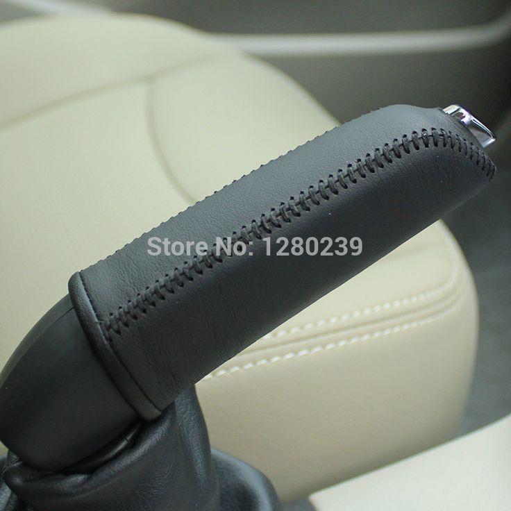 Ручной тормоз обложка чехол для Peugeot 408 натуральная кожа стайлинга автомобилей внутренняя отделка автомобиль ручной тормоз крышки
