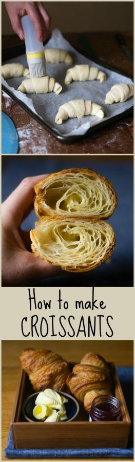 This is a delicious recipe for croissants from the Bouchon Bakery. The recipe takes a little time and effort, but it's completely worth it.