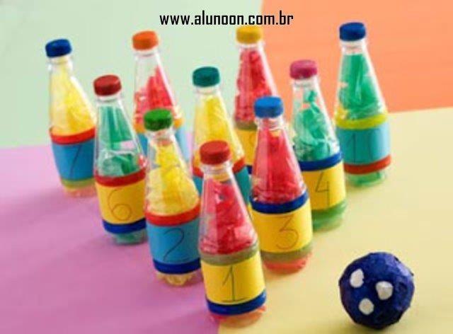 44 Brinquedos de Garrafa PET - Parte 1 - Educação Infantil - Aluno On