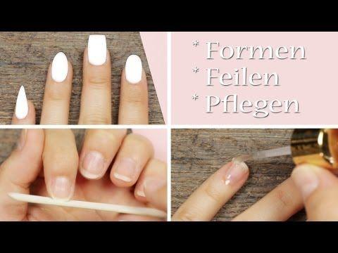 Tipps meine Nagelpflege-Routine - Formen - Feilen - Pflegen
