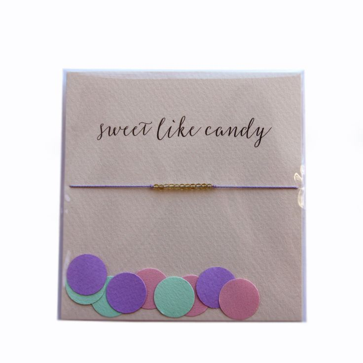 The Reminder Bracelet ~ Sweet like Candy by Mai Lin Jewelry