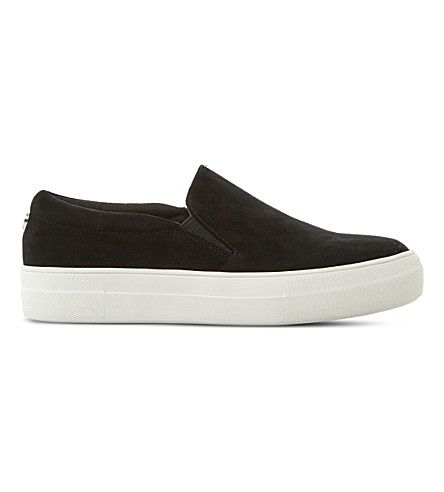 STEVE MADDEN Gills SM suede skate shoes. #stevemadden #shoes #