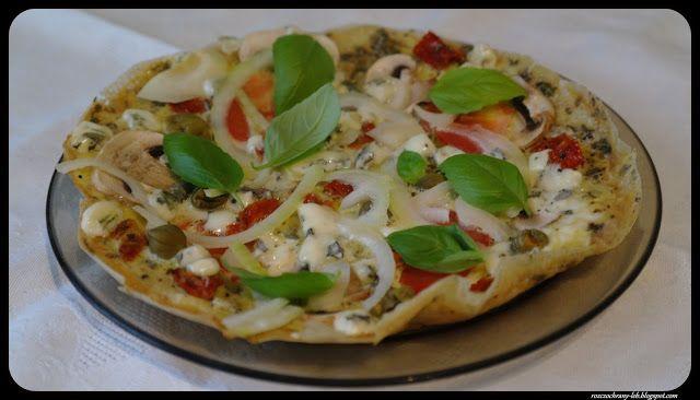 Rozczochrany Łeb!: Omlet a'la pizza