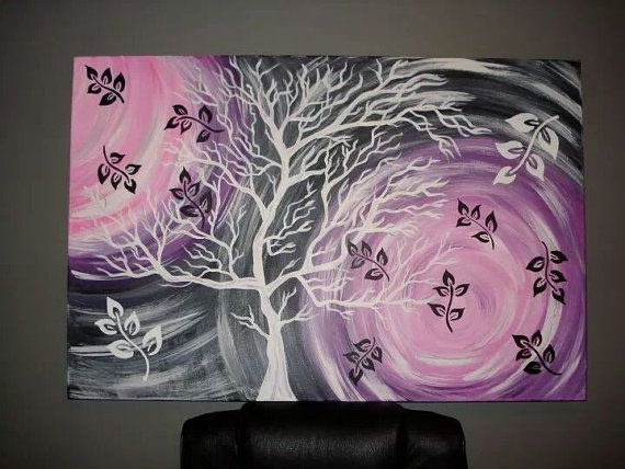 17 best images about trees on pinterest acrylics trees for Acrylic painting on black background