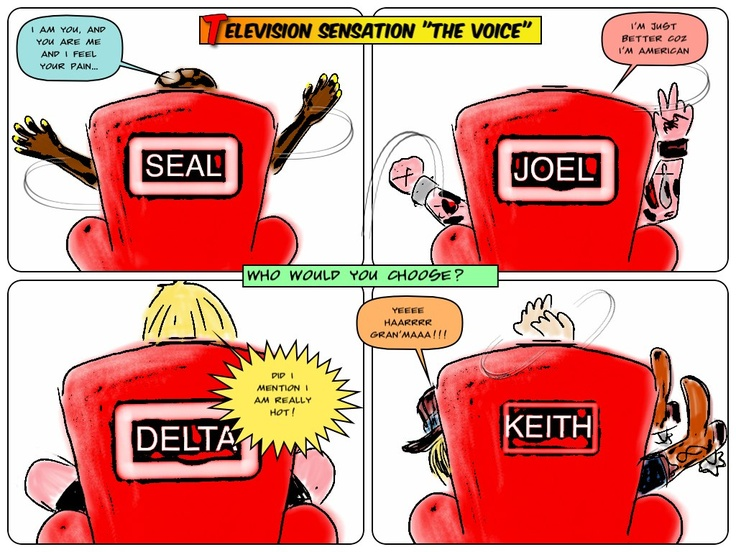 "Are you a fan of the latest TV Talent show ""The Voice""?"