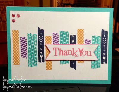 My Favorite Stamps Blog Hop WASHI TAPE WONDER IDEA