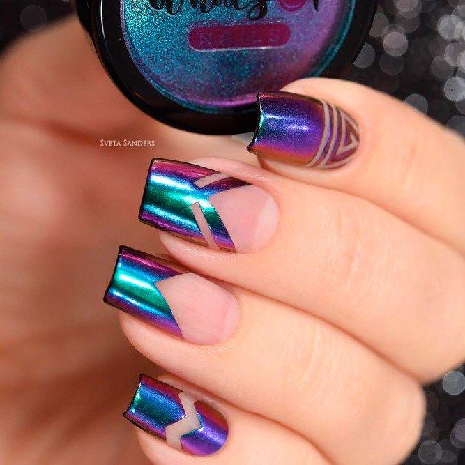 Pretty 19 Gel Chrome Nail Polish 2018nail designs,gel nails,french nails,manicure and pedicure,mani pedi,nail salons, solar nails,natural nails,super easy nail art, hollywood nails,nail art videos,acrylic nail designs,acrylic nail salon,french manicure designs,professional manicure,wedding manicure,top manicure,simple nail art designs,best simple nail art,simple toe nail art,simple nail art designs for beginn,opi nail polish colors.