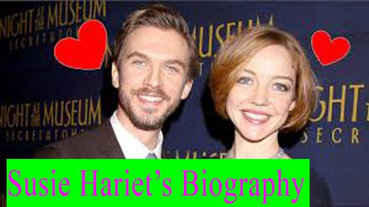Dan Stevens wife | Susie Hariet | Susie Hariet's Biograpy