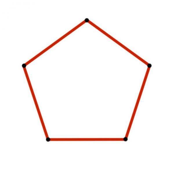 Cómo Dibujar Un Pentágono Perfecto Pentagono Geometria Pentagono Cómo Dibujar