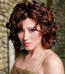 best haircuts for round faces and curly hair - Google Search
