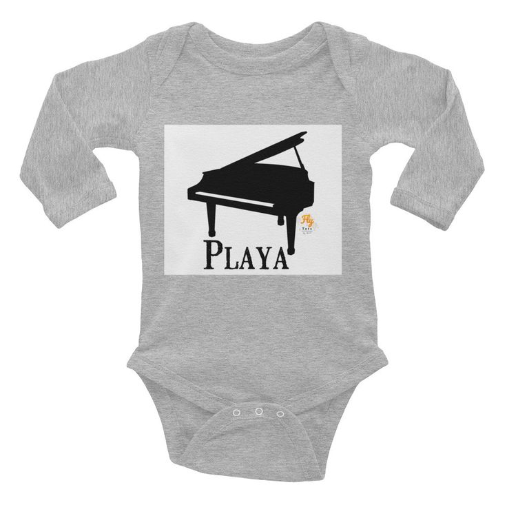 Playa Fly Tots Infant Long Sleeve Bodysuit