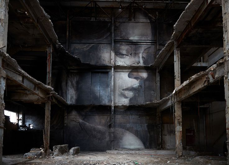 Rone's Hidden Artwork Gets Demolished in Melbourne | Yellowtrace