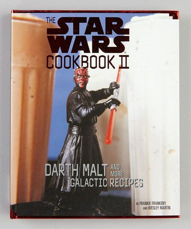 Take a look at this The Star Wars Darth Malt Cookbook Hardcover by Star Wars on #zulily today!
