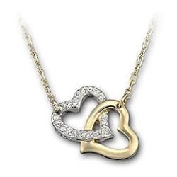 Swarovski'Match Hearts Necklace, - Geeves Jewellers - suppliers of watches and jewellery, London