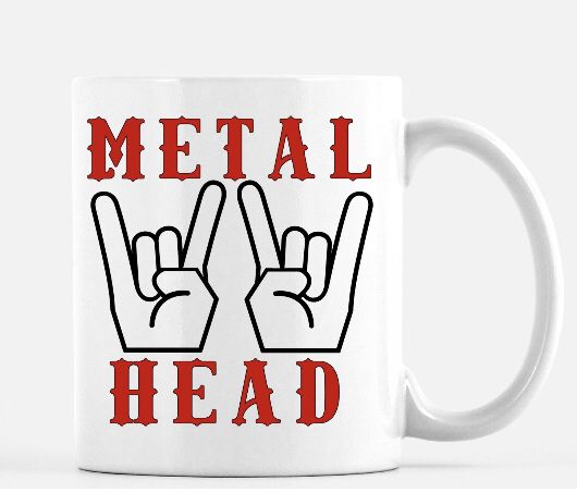 Metal Him For Head Music LoverIdeas Coffee Mug Gift zMSVqUpG